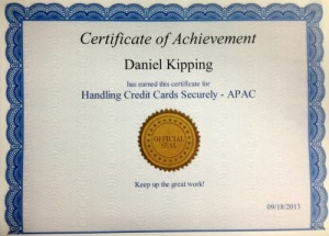 Handling Credit Card Security APAC